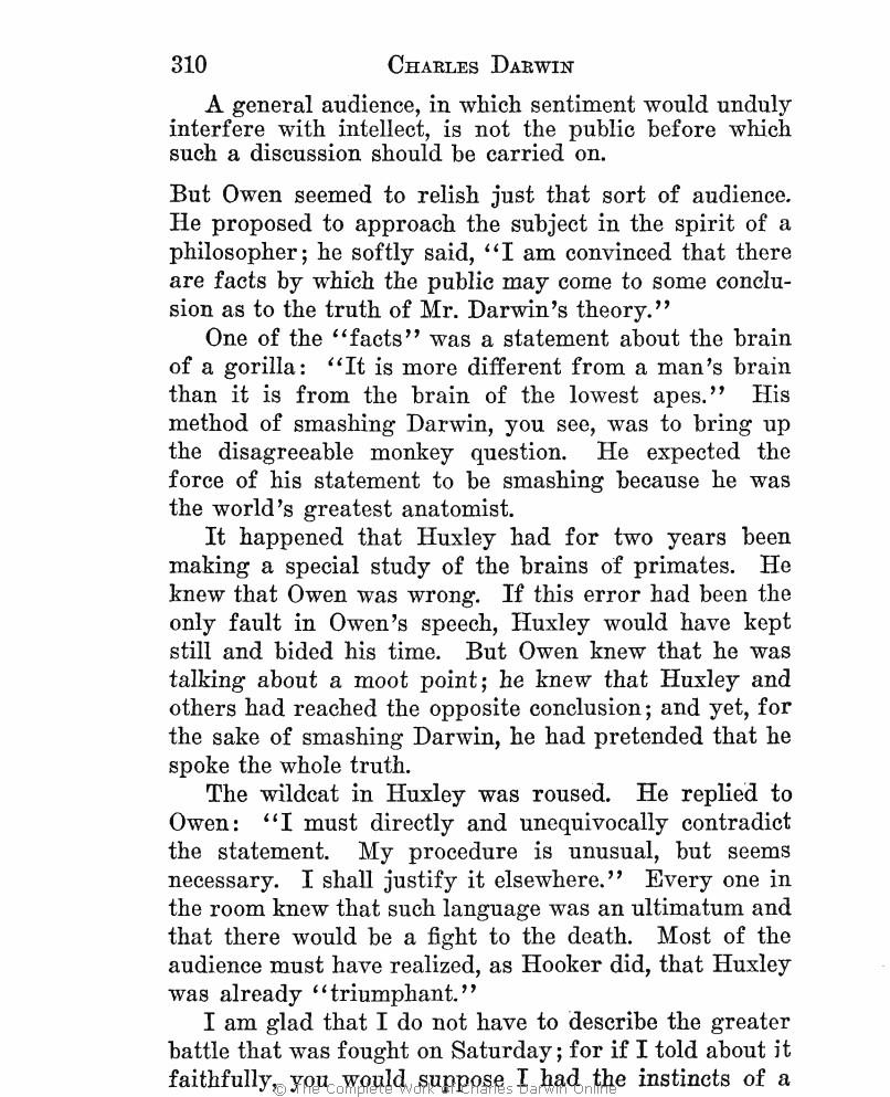 efe152d6a36 Charles Darwin  The man and his warfare. London  John Murray.