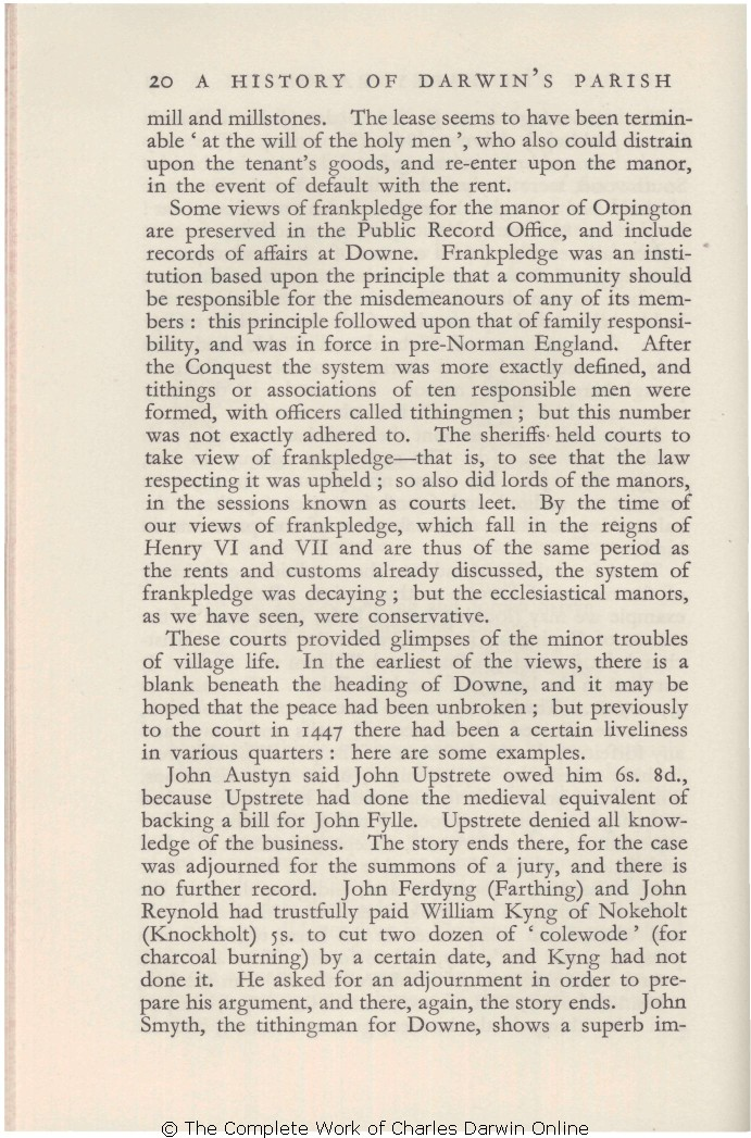 Howarth, O  J  R  and E  K  Howarth  [1933 ] A history of