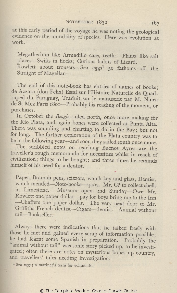 Barlow Nora Ed 1945 Charles Darwin And The Voyage Of The Beagle