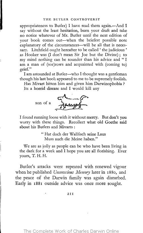 darwin online autobiography books