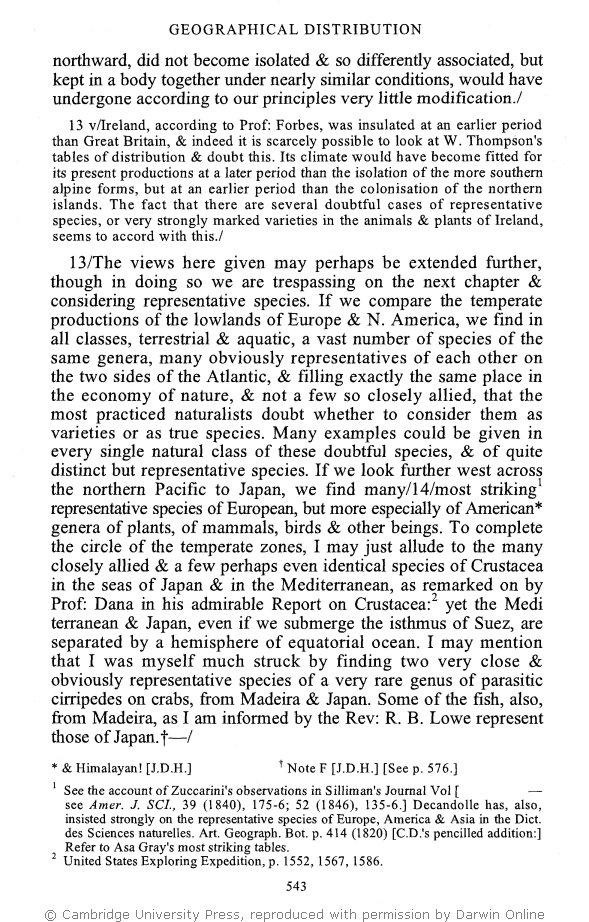 Stauffer R C Ed 1975 Charles Darwin S Natural Selection