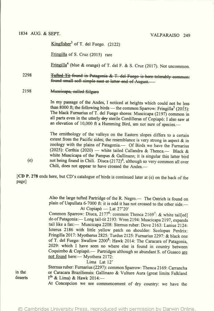 04b19e73ec2 2000. Charles Darwin s zoology notes   specimen lists from H.M.S. Beagle.  Cambridge  Cambridge University Press.