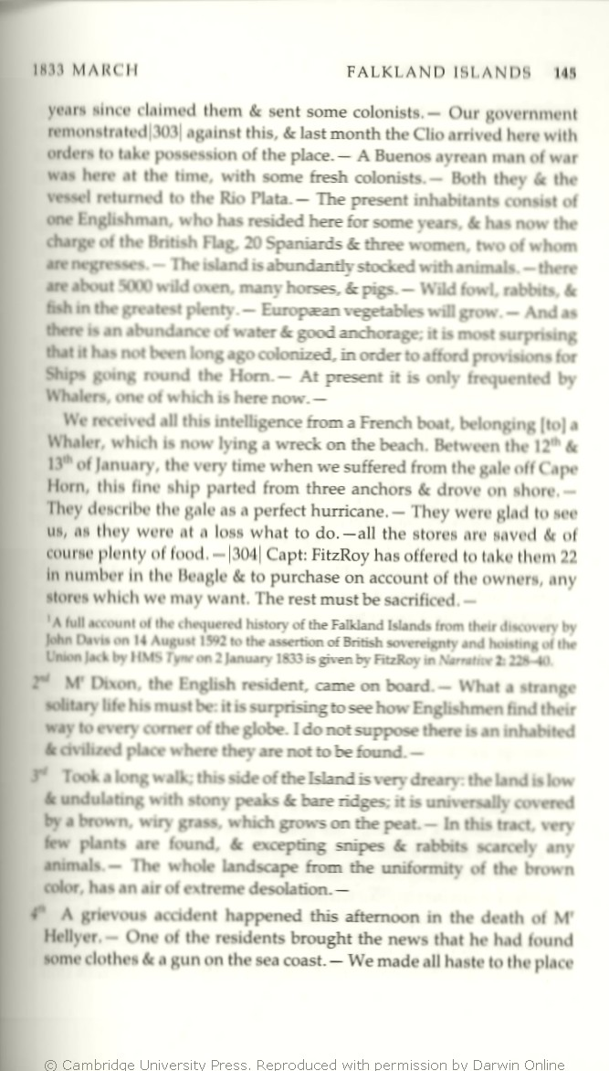 Keynes R D Ed 2001 Charles Darwins Beagle Diary Cambridge