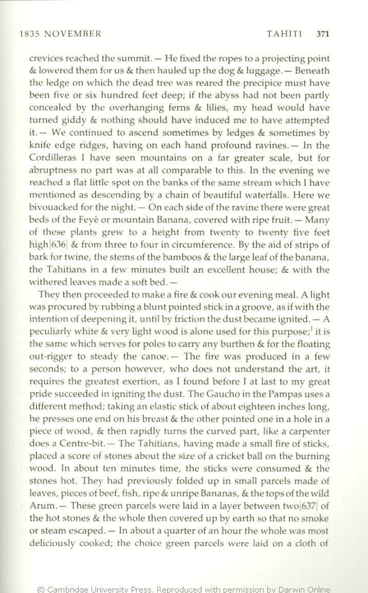 Keynes, R  D  ed  2001  Charles Darwin's Beagle diary