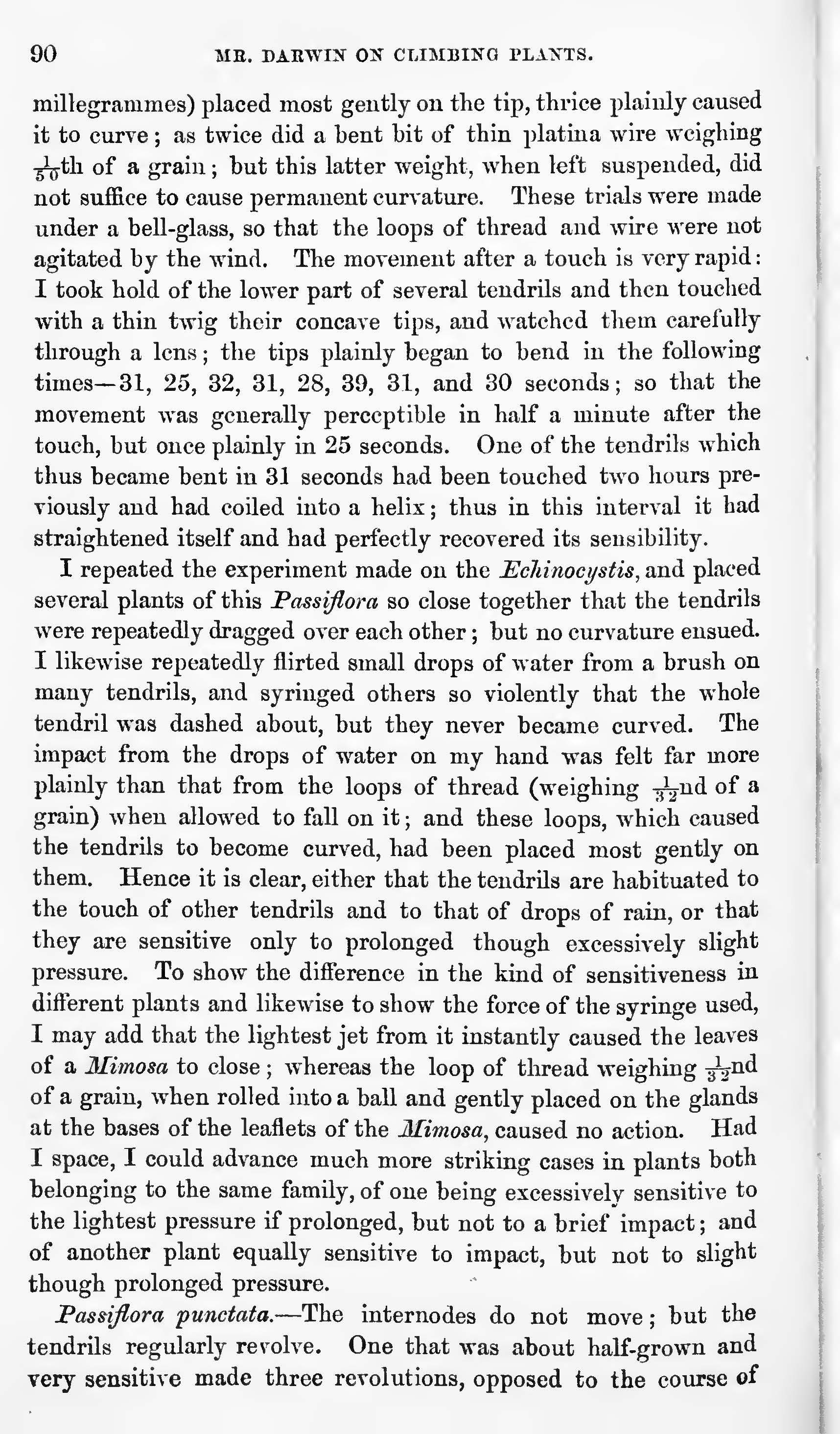 Darwin, C  R  1865  On the movements and habits of climbing