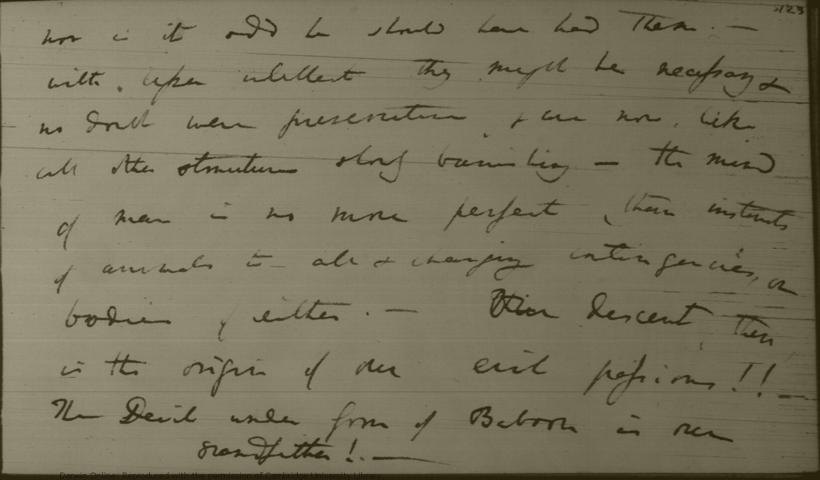 Darwin, C  R  Notebook M : [Metaphysics on morals and