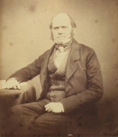 Darwin in 1855. Photo Christ's College, Cambridge