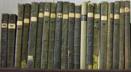 Record Books at Christ's College, Cambridge