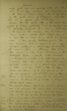 charles darwin s papers online notes on galapagos animals
