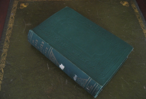 The 1st edition of the Origin of species, 1859
