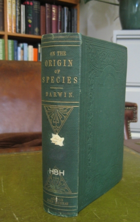 The 1st edition of Origin of species, 1859